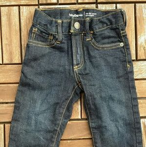 2T GAP lined straight toddler boy jeans